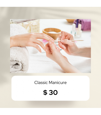Classic Manicure (Outcall)