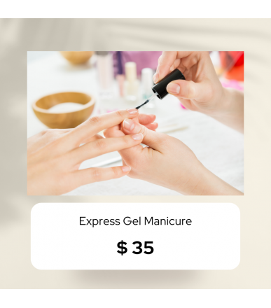 Express Gel Manicure (Outcall)